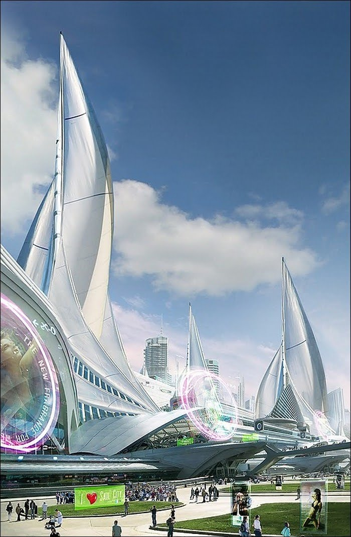 Architecture Future: Buildings In Future